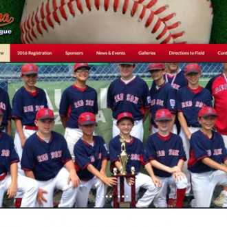 Wyoma Little League Website re-design